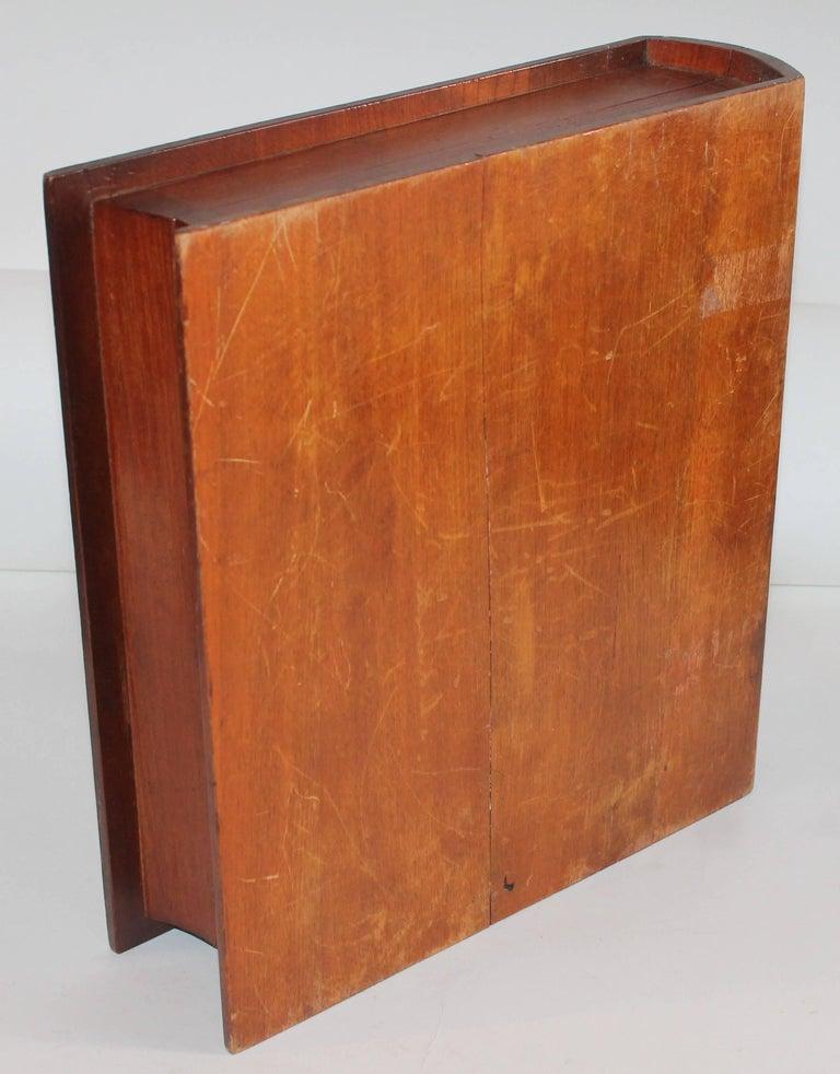 19th Century Folky Inlaid Bible Box 5