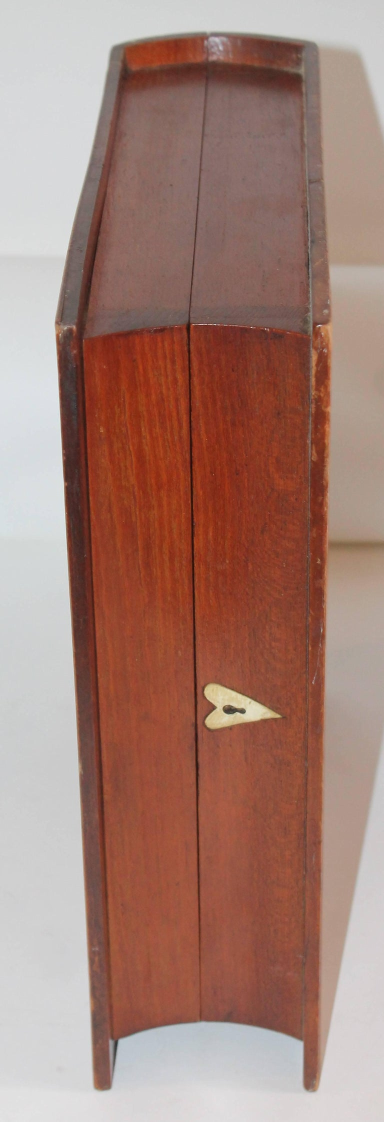 19th Century Folky Inlaid Bible Box 4
