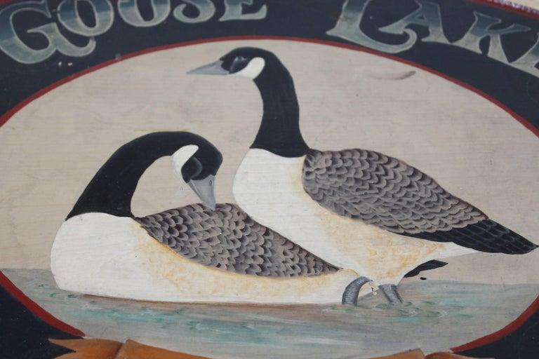 Goose Lake Lodge Trade Sign 2