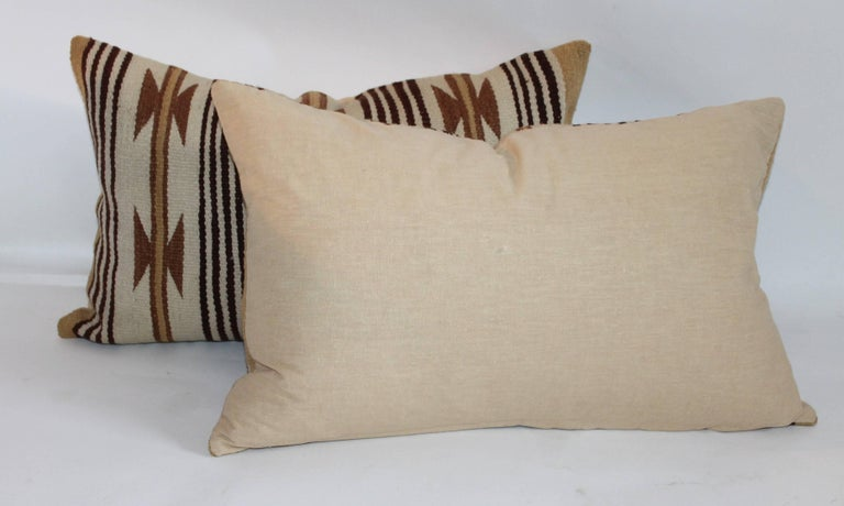 American Navajo Indian Weaving Saddle Blanket Pillows For Sale