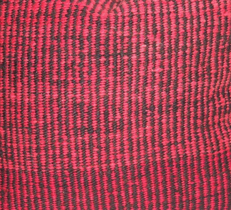 Navajo Indian Weaving Saddle Blanket Pillows or Pair 3