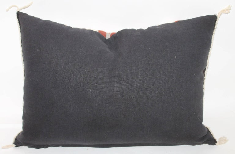 Two Navajo Geometric Bolster Pillows 6
