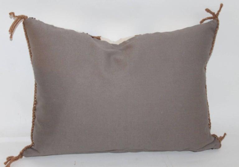 Two Navajo Geometric Bolster Pillows 10