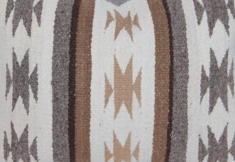 Two Navajo Geometric Bolster Pillows 8