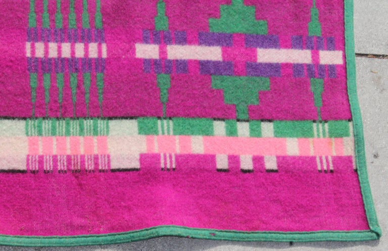 Machine-Made 1919 Cayuse Pendleton Blanket For Sale