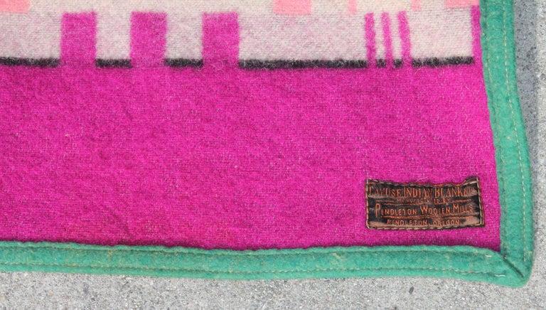 1909 Cayuse Pendleton Blanket 3