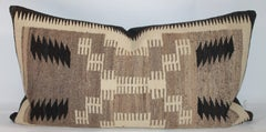 Navajo Indian Weaving Saddle Blanket Pillow