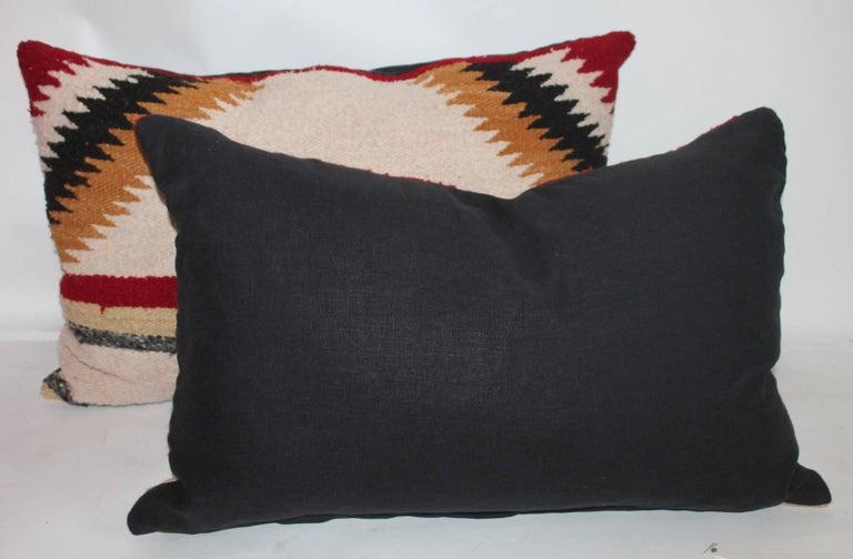 Navajo Saddle Blanket Pillows, Set of Three 7