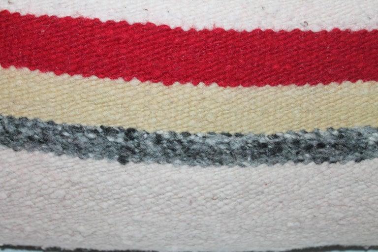Navajo Saddle Blanket Pillows, Set of Three 6