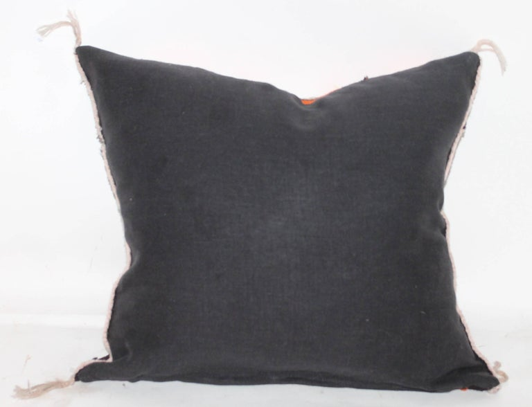 Hand-Woven Yei Indian Weaving Pillow For Sale