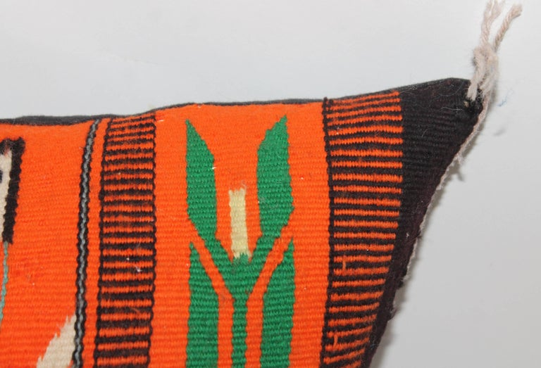 American Yei Indian Weaving Pillow For Sale