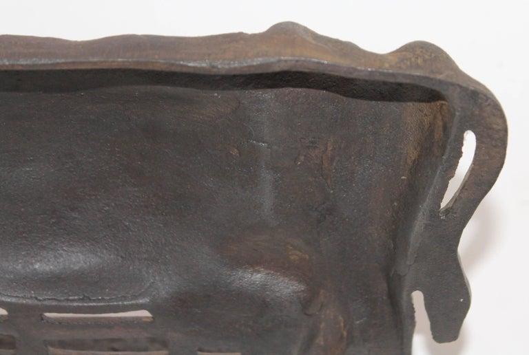 20th Century Cast Iron Cow Door Stop For Sale