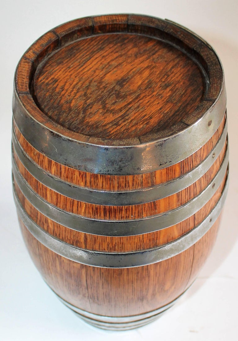19th Century Tabletop Barrel or Oak Miniature Hires Rootbeer Style 2