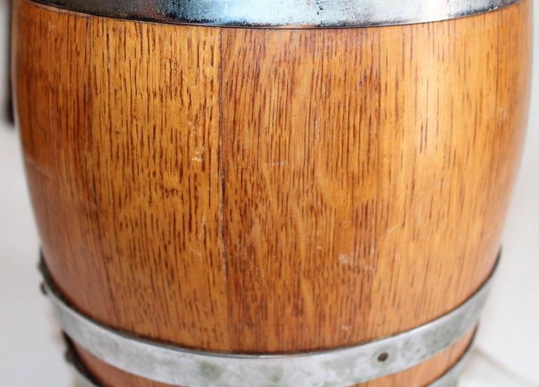 19th Century Tabletop Barrel or Oak Miniature Hires Rootbeer Style 4