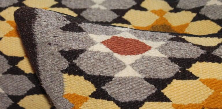 Navajo Indian Weaving Bolster Pillows, Two 2