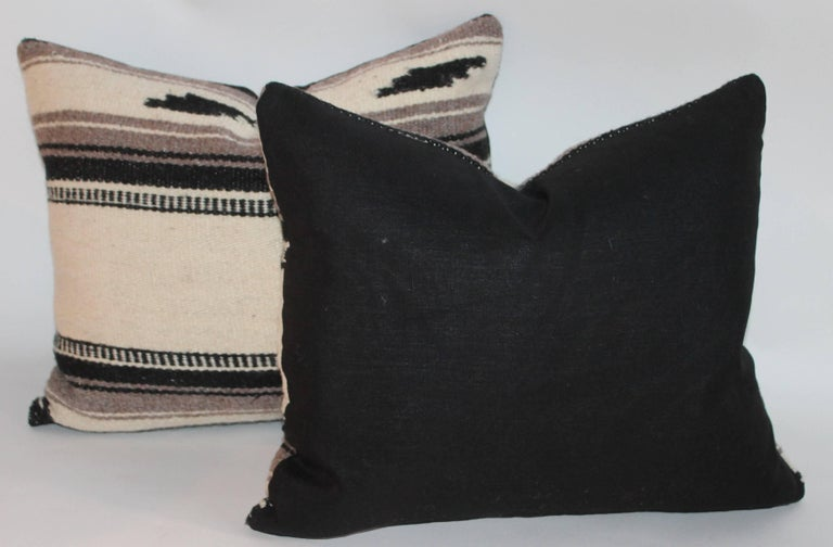 Hand-Woven Collection of Three Indian Weaving Pillows For Sale