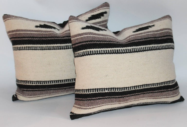 Other Collection of Three Indian Weaving Pillows For Sale