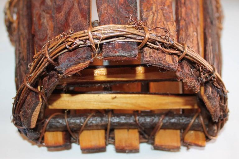 Adirondack Wall Baskets, Pair 9