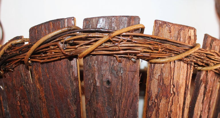 Adirondack Wall Baskets, Pair 5