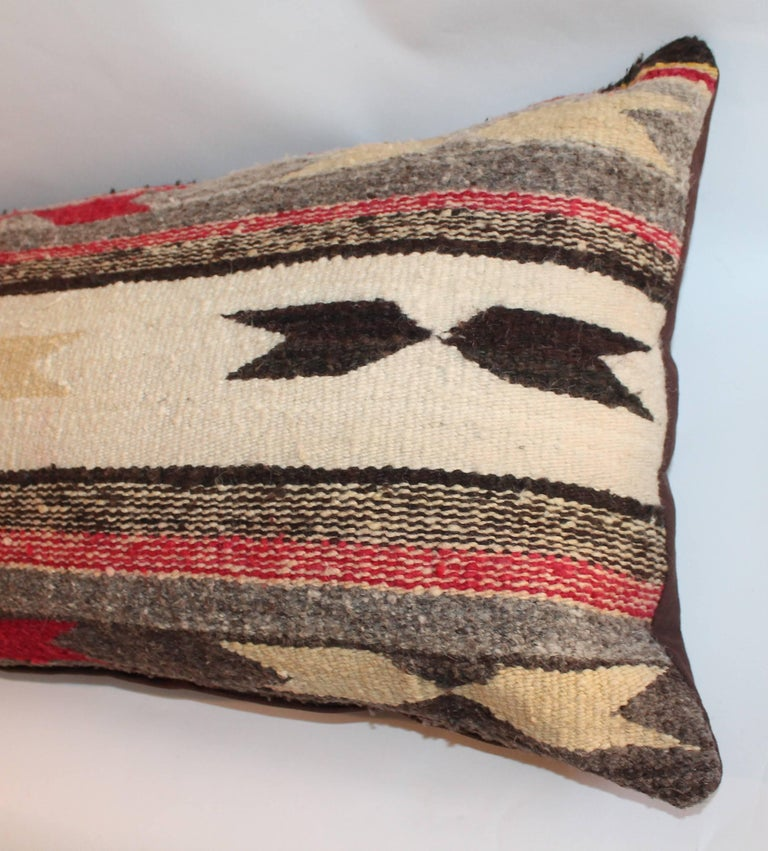 Navajo Indian Weaving Bolster Pillows For Sale 2