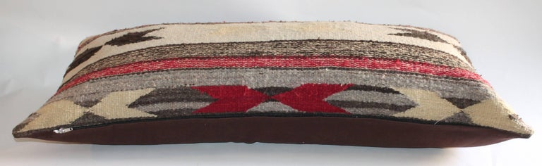 Other Navajo Indian Weaving Bolster Pillows For Sale