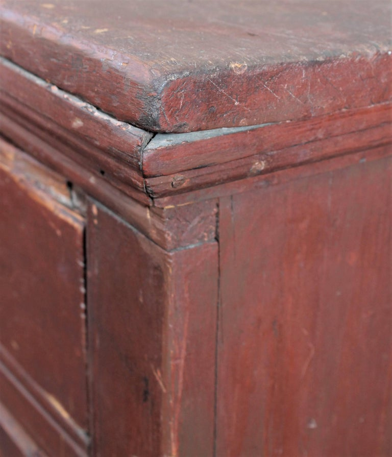 19th Century Canadian Jelly Cupboard 10