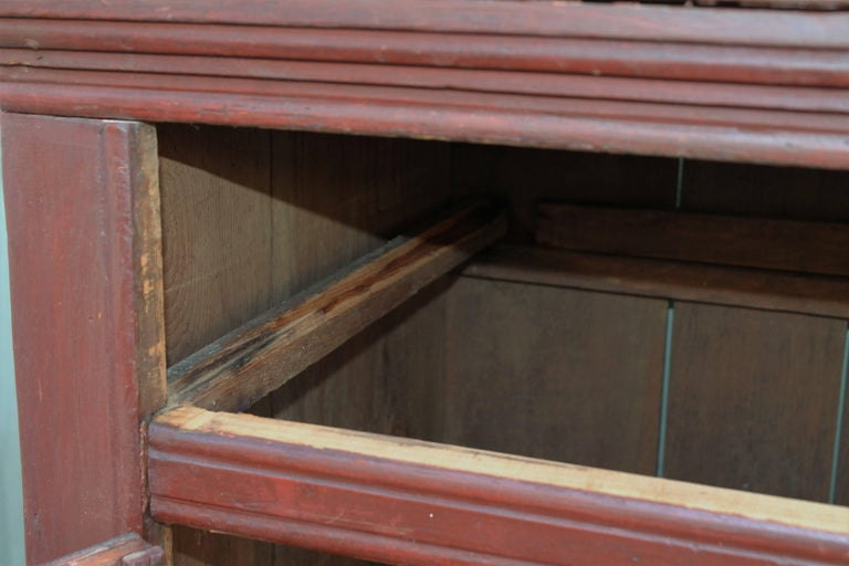 19th Century Canadian Jelly Cupboard In Good Condition For Sale In Los Angeles, CA