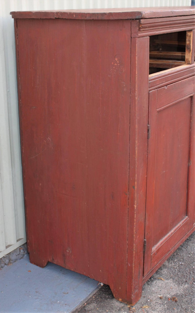 19th Century Canadian Jelly Cupboard For Sale 1