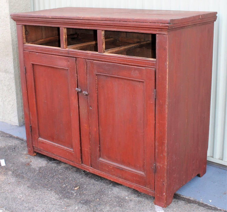 Wood 19th Century Canadian Jelly Cupboard For Sale