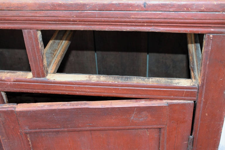 American 19th Century Canadian Jelly Cupboard For Sale