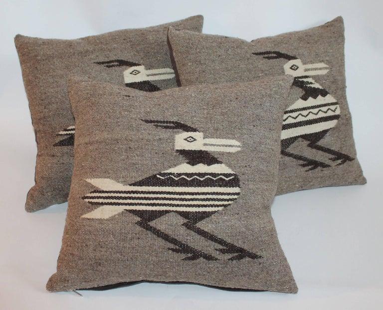 Indian Weaving Road Runner Pillows 3