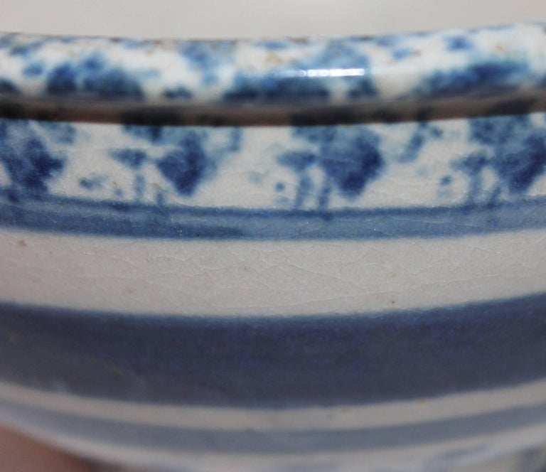 American 19th Century Spong Ware Bowl For Sale