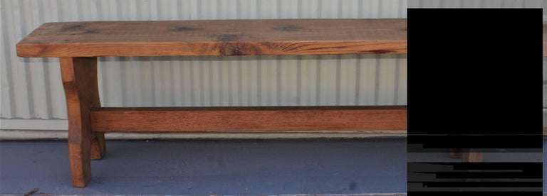 Farm House Amish Made Benches, Pair For Sale 7