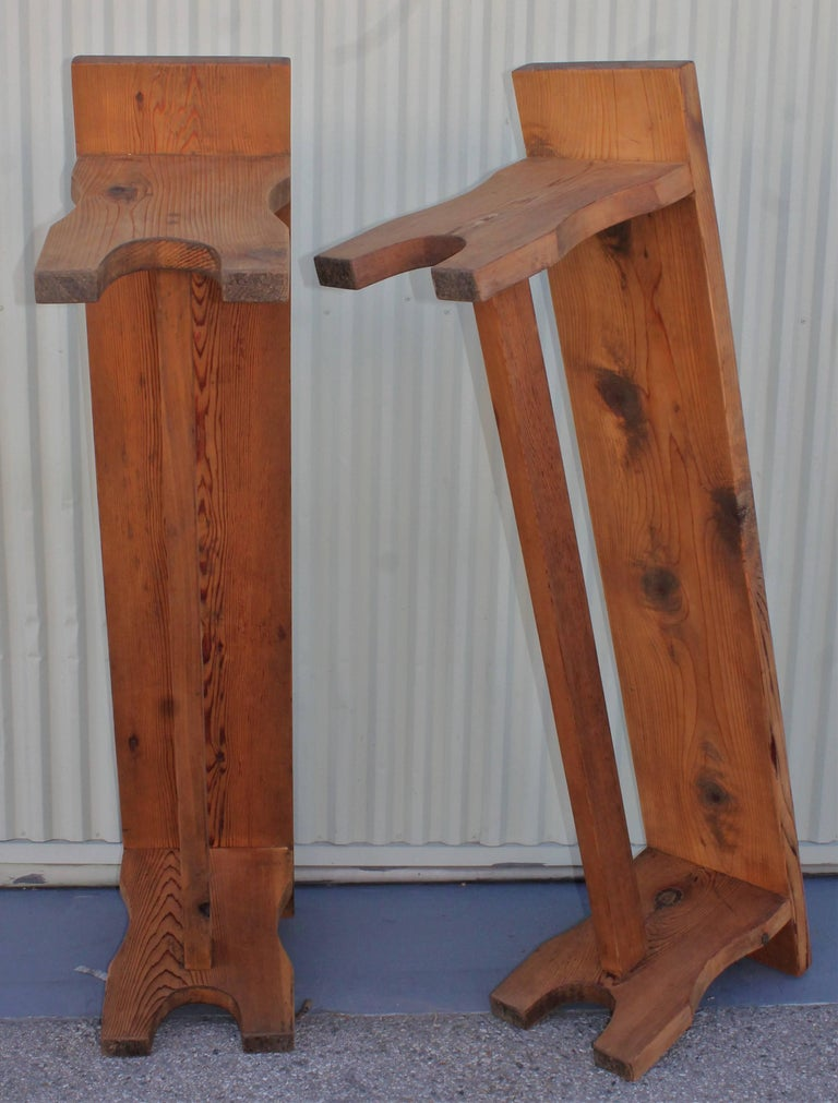 Farm House Amish Made Benches, Pair For Sale 6