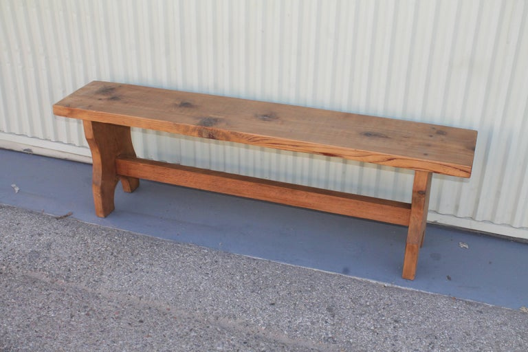 Farm House Amish Made Benches, Pair For Sale 9