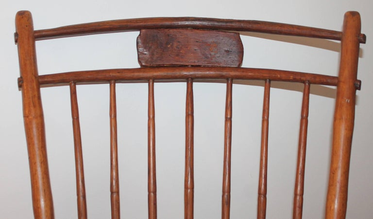 American 19th Century Windsor Chair from Pennsylvania For Sale