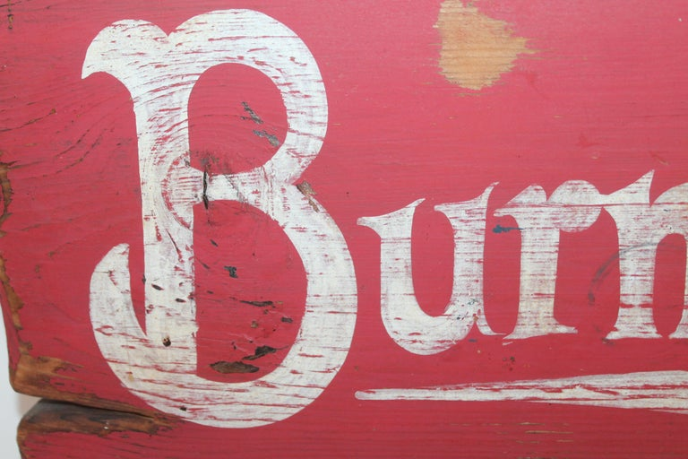 Country Burma Shave Trade Sign For Sale