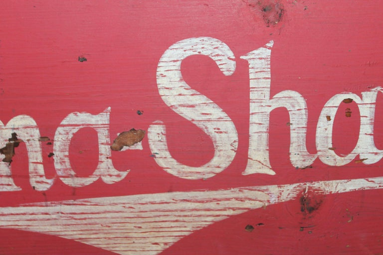 American Burma Shave Trade Sign For Sale