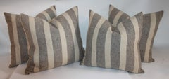 Mexican Hand Woven Pillows / Group of Four