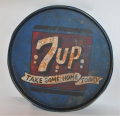 Vintage 7up Tray