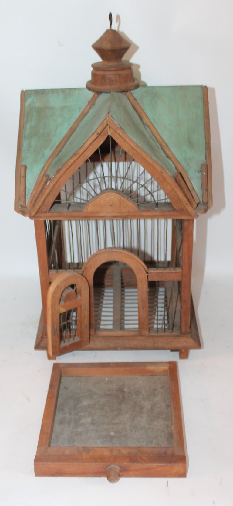 Hand-Crafted Bird House / Cage For Sale