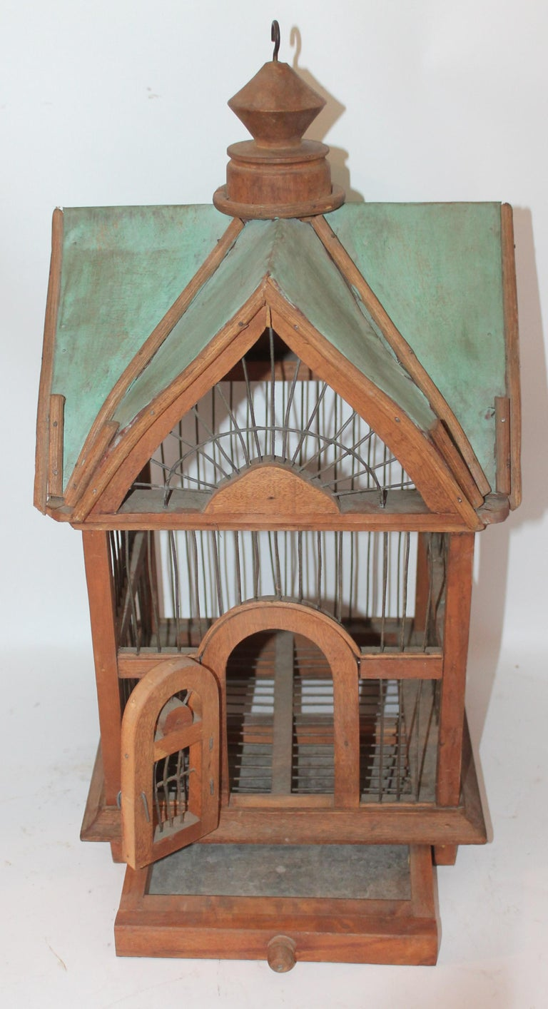 Adirondack Bird House / Cage For Sale