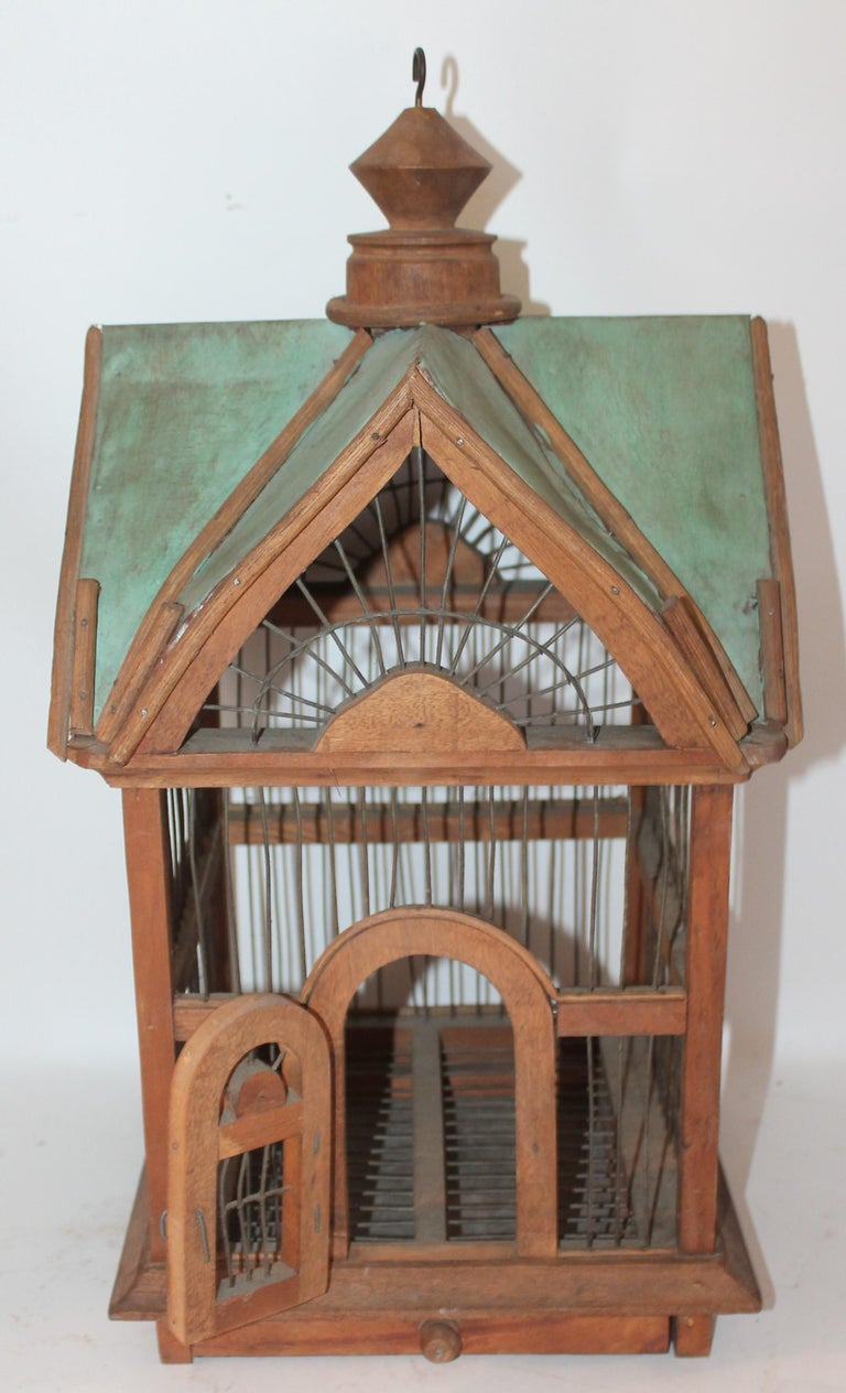 Mid-20th Century Bird House / Cage For Sale