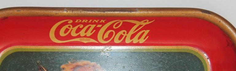American Classical Coca Cola Coin Tray For Sale