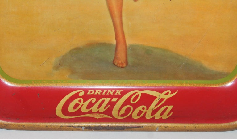 American Coca Cola Coin Tray For Sale
