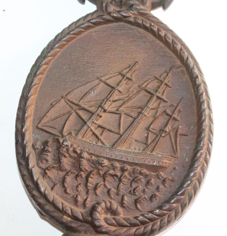 American Nautical Ship Iron  Door Stop For Sale