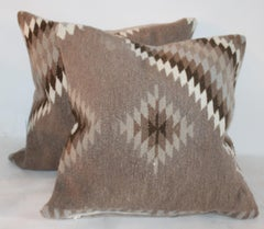 Indian Weaving Pillows / Pair