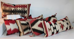Collection of Five Navajo Weaving Pillows / Group of Five