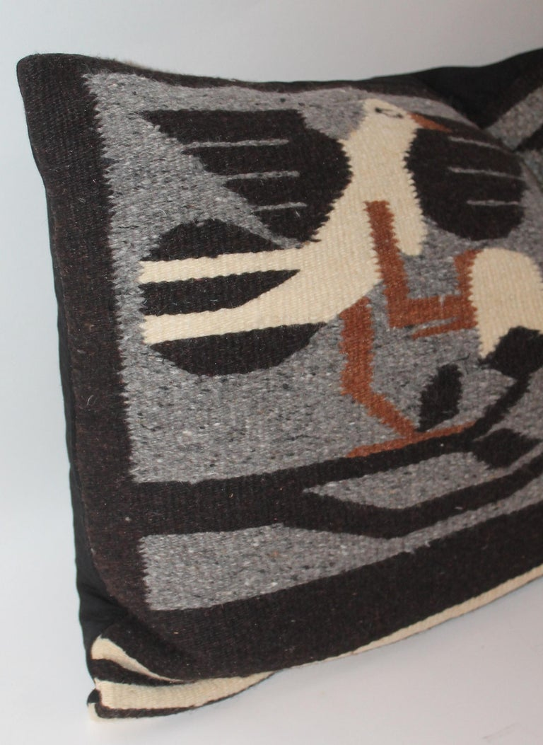 Hand-Woven Mexican / American Indian Weaving Pillow For Sale