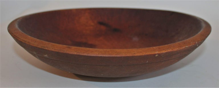 Hand-Crafted Collection of 19th Century Wooden Bowls For Sale